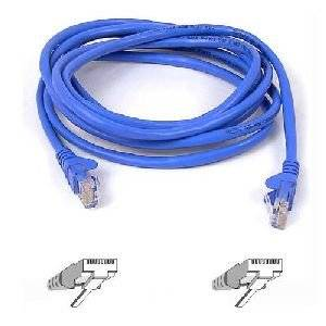 "Belkin, High Performance Patch Cable Rj-45 (M) Rj-45 (M) 7 Ft Utp Cat 6 Molded, Snagless Blue For Omniview Smb 1X16, Smb 1X8, Omniview Smb Cat5 Kvm Switch ""Product Category: Supplies & Accessories/Network Cables"""