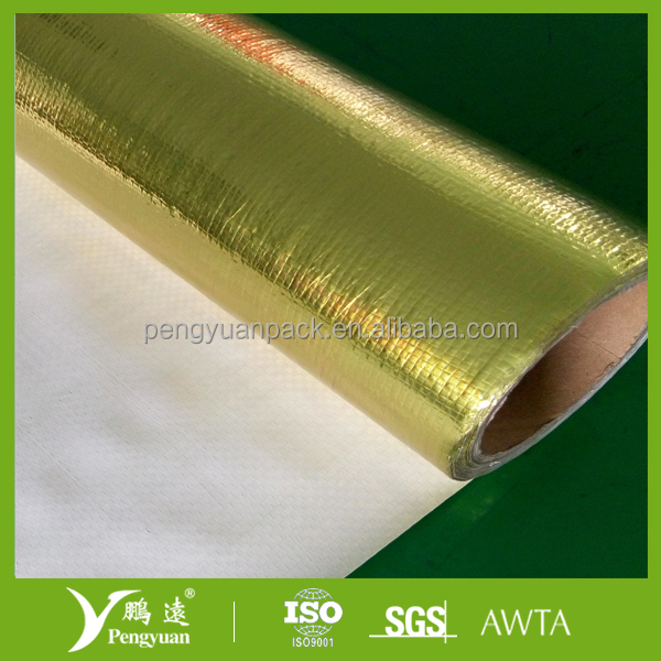 vapor barrier with thermal and acoustical insulation