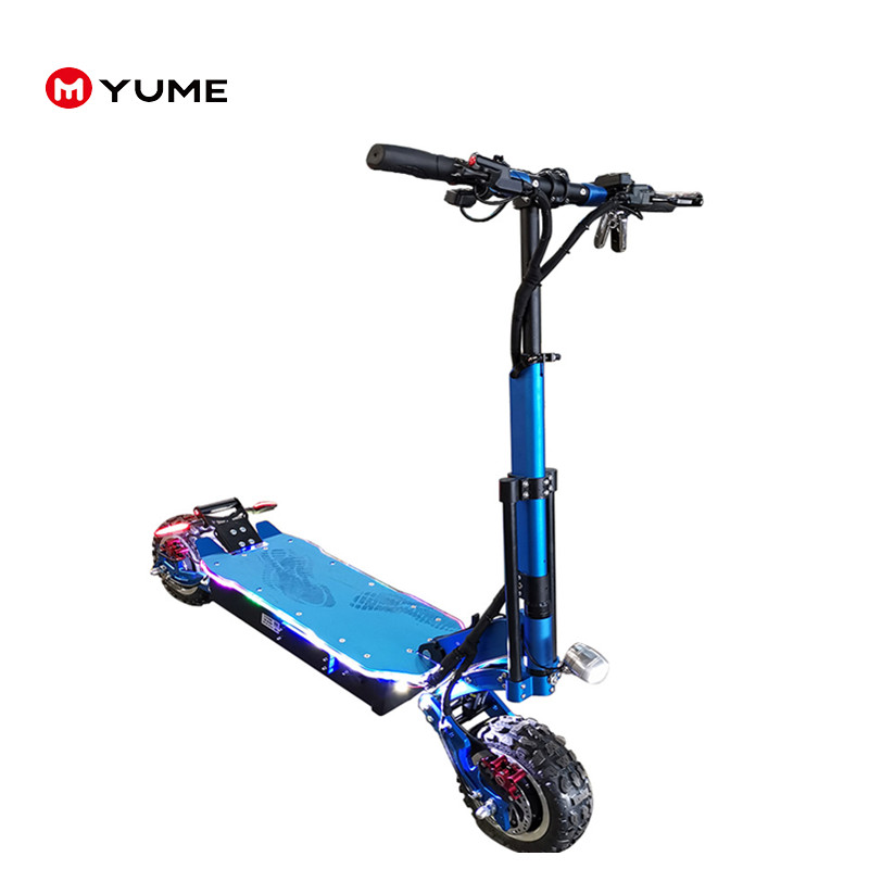 Alibaba.com / Yume 5000w two big wheel electric kick scooter electronic scooter for adult