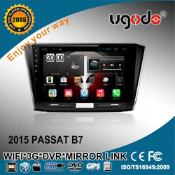 ugode Car dvd player for vw passat B7 with MP5 player 3g wifi
