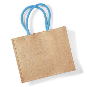 promotional China Online Grocery Carrier Custom Picture of Plastic Jute Shopping Bag