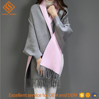 Ladies poncho sweater , long sleeve knit cardigan sweater coat for women