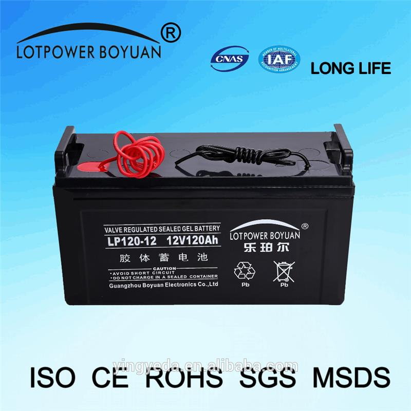 long life time 12v 120ah GUANGZHOU battery activator With Best Price