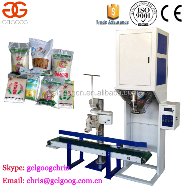 Auto Filling Counting Weight Wood Pellet Packing Machine