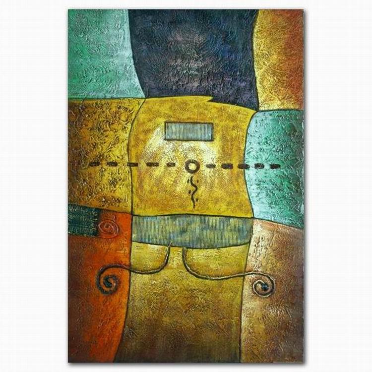 High Quality Home Good Modern Abstract Wall Decor Mosaic Oil ...