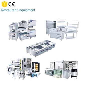 One-Stop Solution Full Set Industrial used restaurant equipment for sale/grill equipment for restaurant