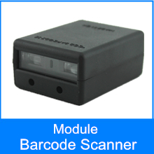 Portátil Mini 2D qr Scanner de código de Barras Do Bluetooth