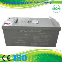Deep cycle battery 12 volt 200ah for solar system /for sell /for home used