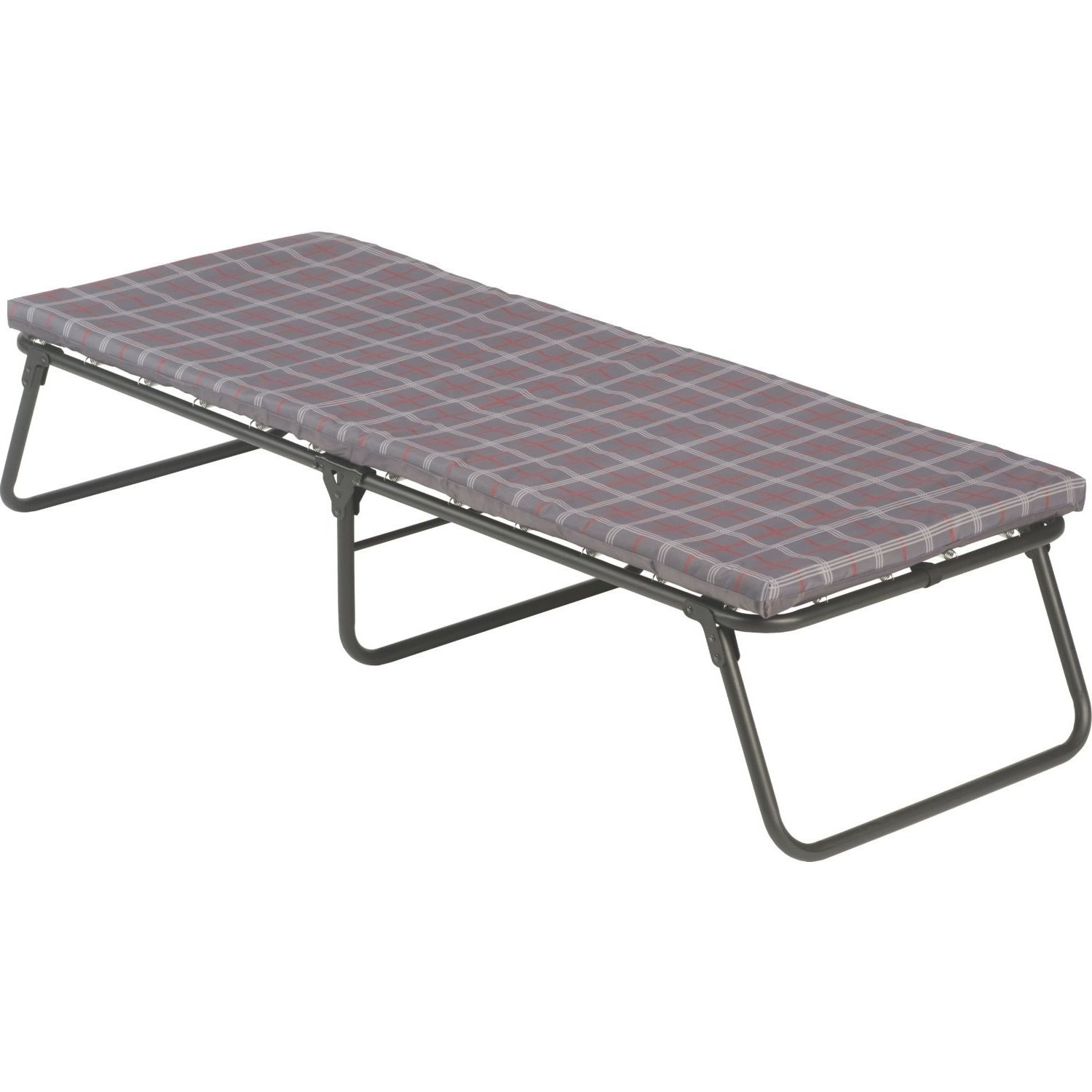 Buy Camping Cot Coleman Folding Bed With Foam Mattress Pad Heavy