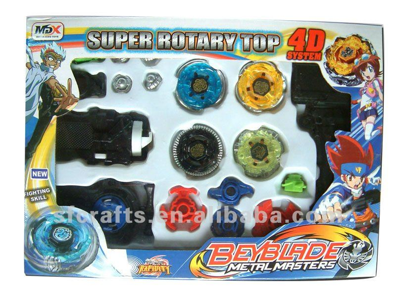 2012 New type metal 4d beyblade top toys
