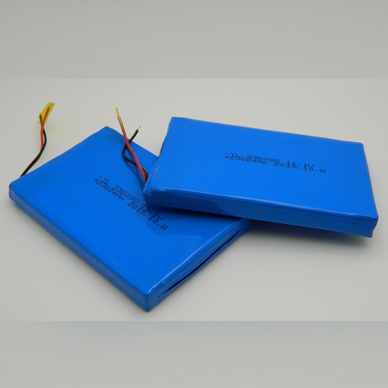 battery manufacturer lipo 3.7v 336090 2300mah for electronic articles
