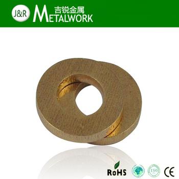 High Quality Flat Gasket Brass Flat Washer Din125/din9021 ...