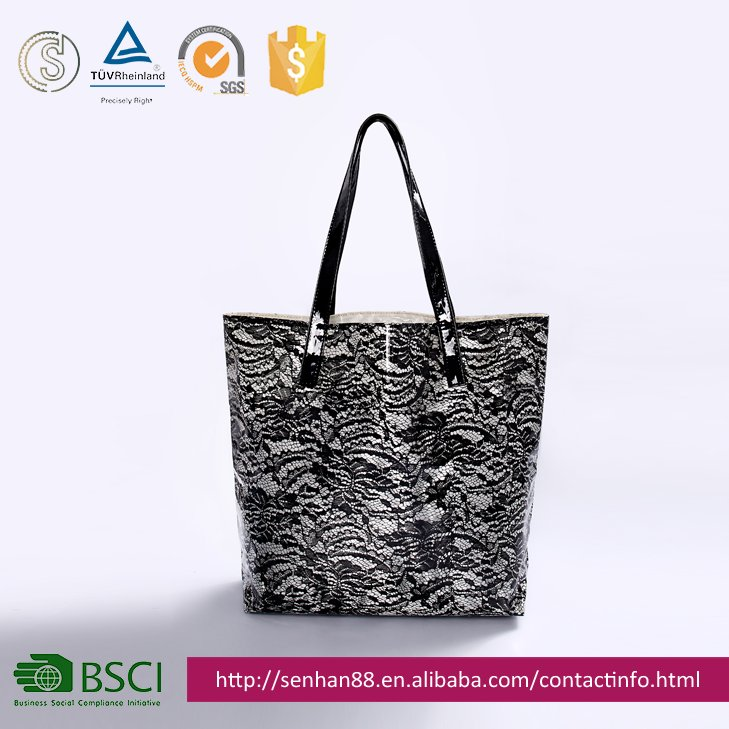High fashion ladies tote shopping hand bag designer 2016