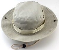 Classic wholesale cotton/polyester ripstop hiking mountain fishing bucket hat bonnie hat