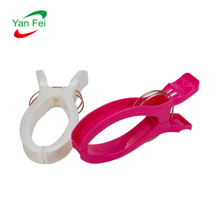 all kinds fashion strong and durable of plastic towel clips for clothes