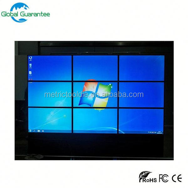 Commercial videowall lcd advertising display with video wall price