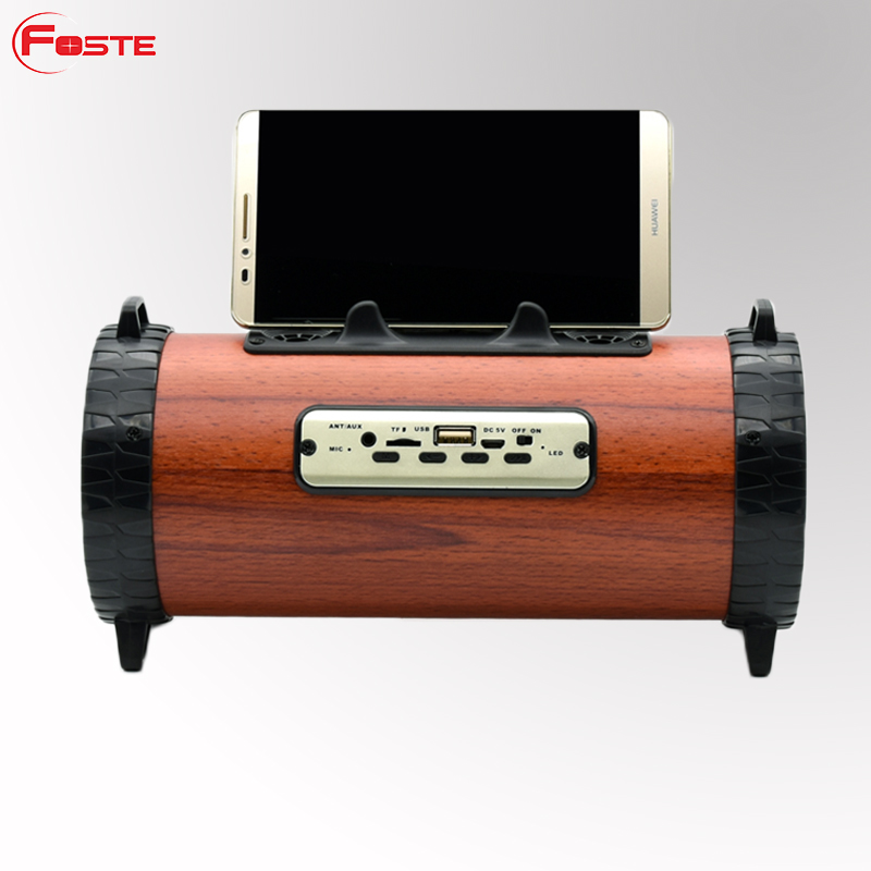 Top Amazon New Arrivals 2018 Wooden Speaker Bluetooth, China Waterproof Mini Wireless Portable Bluetooth Speaker ##