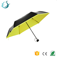Shenzhen promotinal ladies manual UV protect fold umbrella