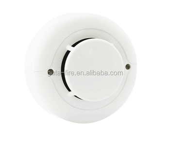 Ce Certified White Color Smoke Detector For Apartment