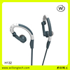 hot selling earhook earphone 3.5mm jack hifi headset hands-free microphone click button