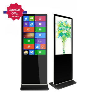 Special Offer Shopping Mall 42 inch Floor Stand Signage Touch Screen kiosk All in One digital Totem Android Advertising Screen