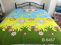 Bright Color quilts with pet pattern