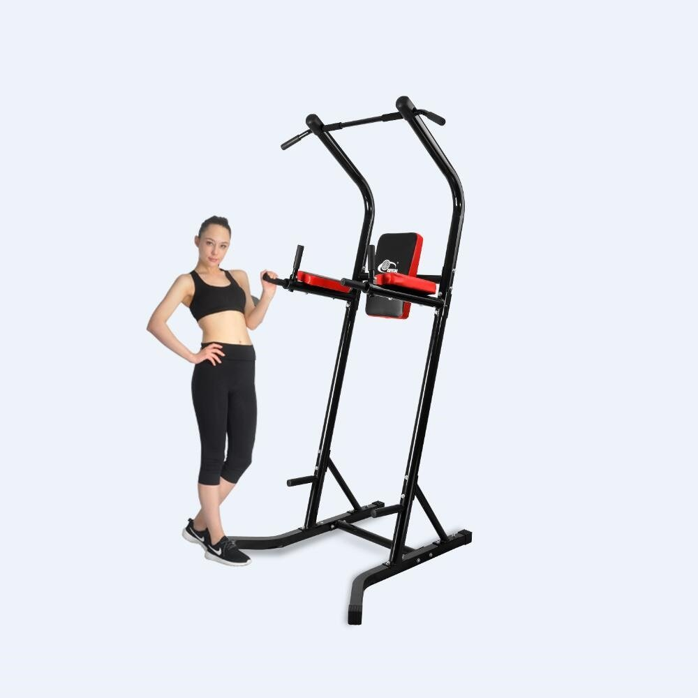 350bf68723a Get Quotations · XPH Power Tower Pull Up Dip Station Workout Tower Fitness  Station Body Tower Sports Equipment Pull