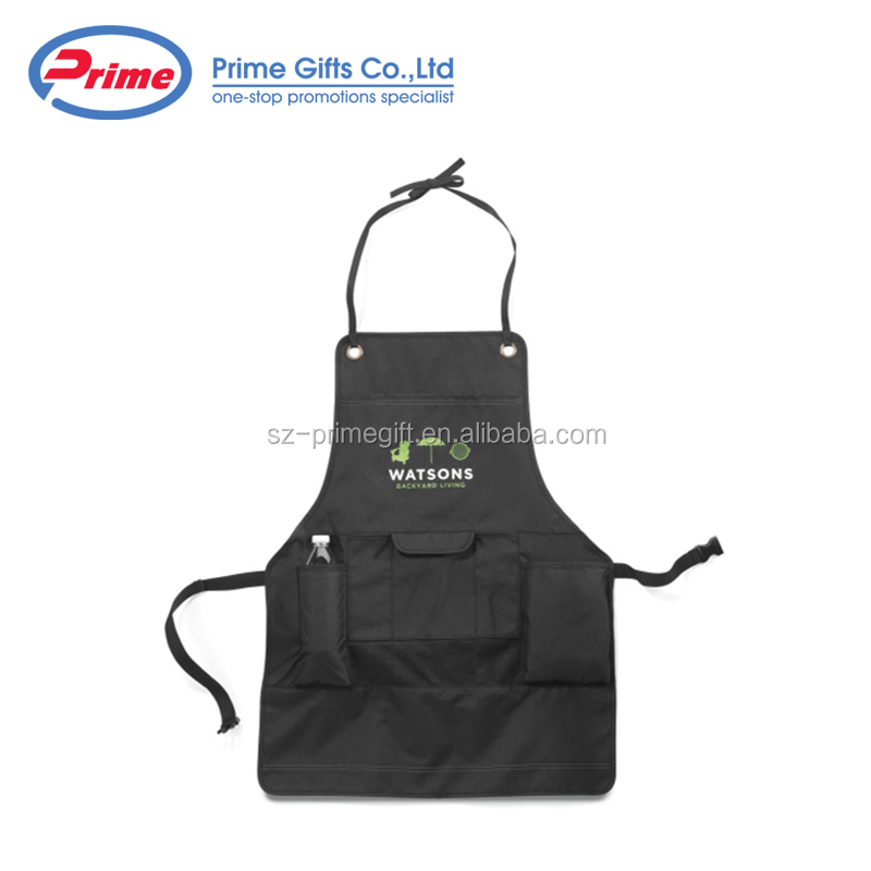 Custom Printed Kitchen Polyester Apron for Sale