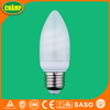 9W T2 Candle Bathroom Mirror Light Fluorescent