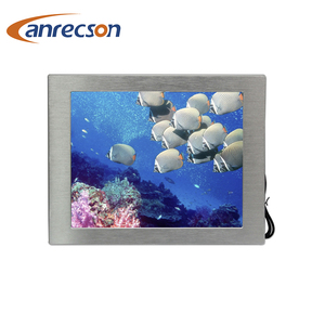 24 inch hot-selling rugged Industrial IP65 LCD touch screen Monitor With av input