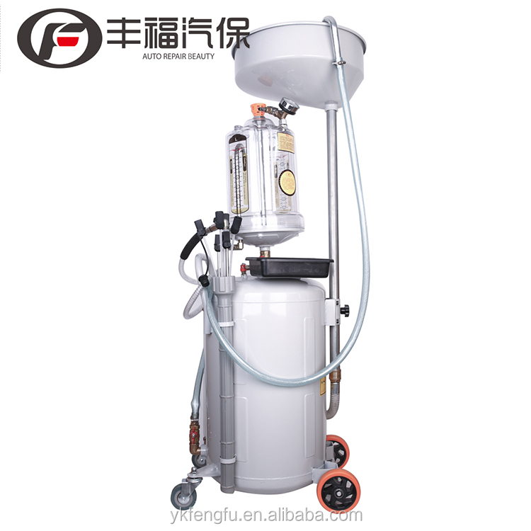 Professional High Quality Air-Operated Pantograph Waste Oil Suction / Draine