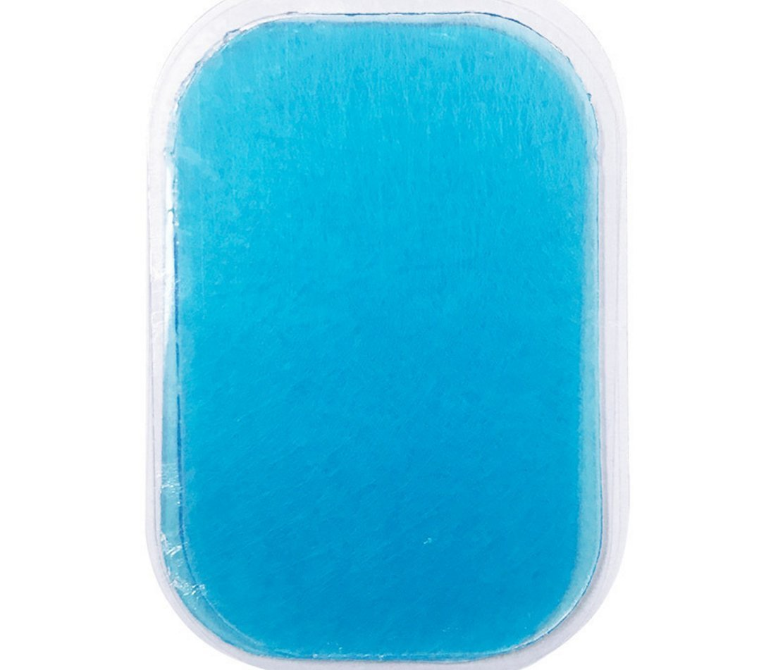 Pads Replacement for Abdominal Toning Belt, Replacement Gel Pads for Abdominal Toning Belt Muscle Toner Ab Trainer Accessories ,12pcs, 60*40MM ( 4pcs/packs, 3packs/bag) (blue)