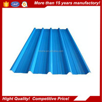 Zink Corrugated Color Coated Metal Roofing Sheets/color coated zinc