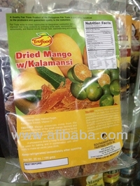 Export Quality Dried Mango with Kalamansi