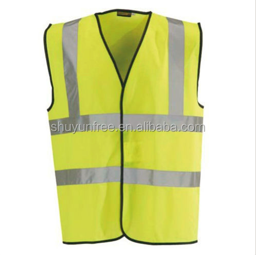 Yellow High Visibility Vest Waistcoat Safety