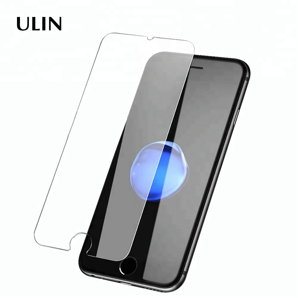 2.5D 0.3mm Cell Phone Tempered Glass Screen Protector For Iphone 6/7/8