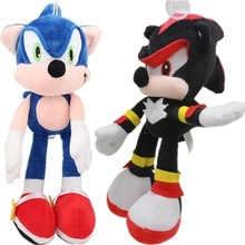 HI 20cm bule sonic plush stuffed cartoon characters plush toys for claw machine