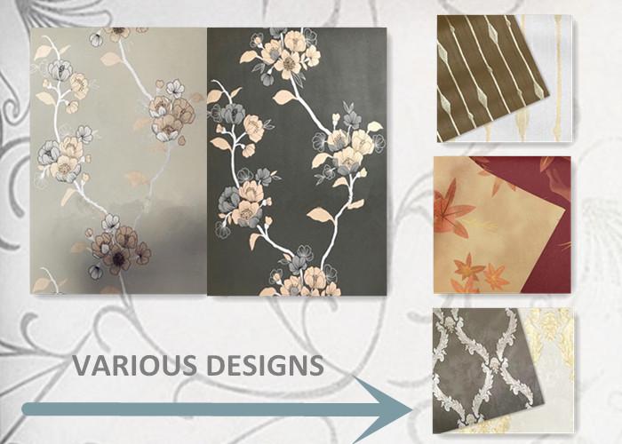 HW711601-131 ออกแบบใหม่การพิมพ์ดอกไม้ self adhesive PVC วอลล์เปเปอร์สำหรับตกแต่งบ้าน