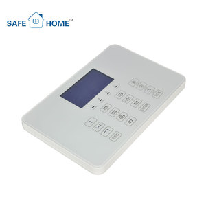 Keypad Control Automation System Smart House Burglar Alarm System High Tech