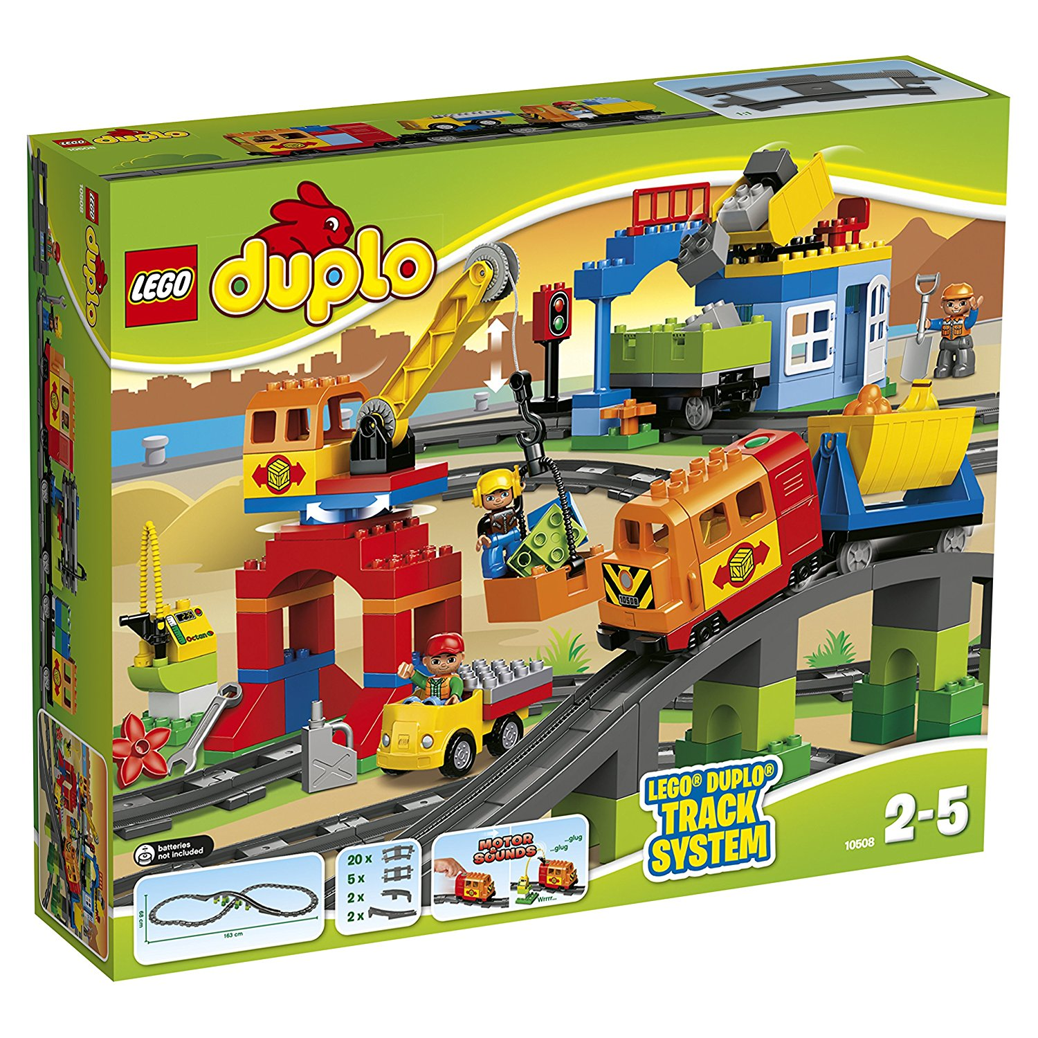Buy Lego Duplo Legoville Deluxe Train Set 5609 In Cheap Price On