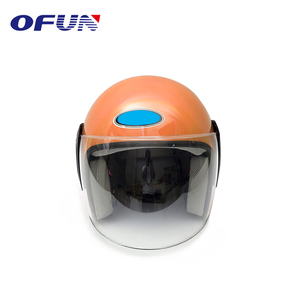 OFUN Cool Designs Dot Approved Motorcycle Half Open Helmet