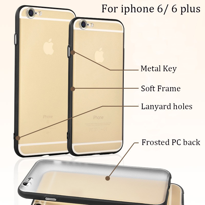 DFIFAN Factory Price for iphone7 plus case Transparent Clear Sublimation Protective Back Cover for iphone 7plus Case