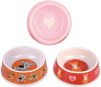 Newest products fashionable style plastic colourful pet bowl