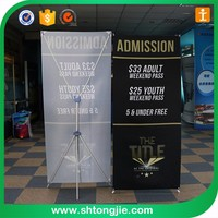 80*200 85*200 exhibition banner stand,x display stand,roll up stand