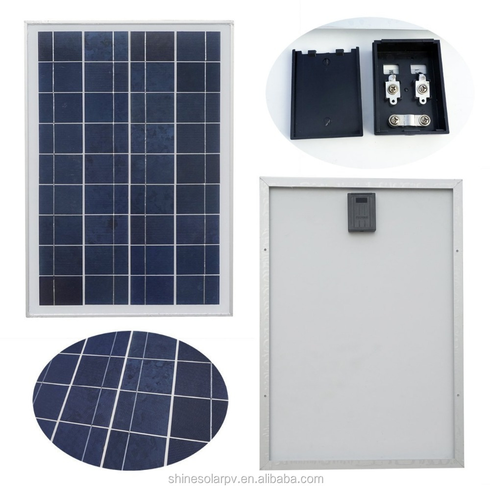 Best price 12v 25w solar panel poly 5W 10W 25W 85W 100W for solar panel complete set