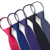 Cheap Satin Solid Zipper Polyester Neck Tie
