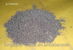 Chinese AAC Aluminium Paste For Aerated Concrete