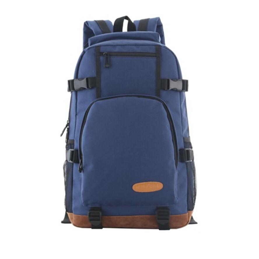 c55033ba33 High school backpack school bags for teenagers boy blue oxford fabric big  book bag casual travel bag boys 2015 fashion schoolbag