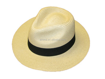 cd929be3e5 Mens Ladies Packable Summer Panama Straw Fedora Hat With Black Band Ht2860  - Buy Straw Hat,Panama Straw Hat,Straw Fedora Hat Product on Alibaba.com
