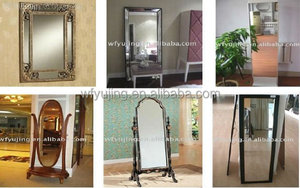 High Quality Good Price Standing Make up Dressing Mirror